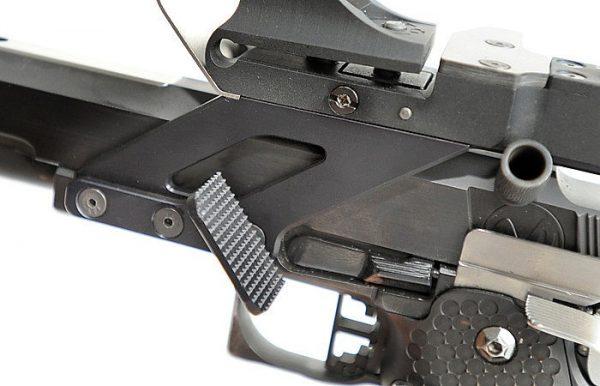 IPSC Alex Thumb Rest for SV/ STI 2011 Pistols