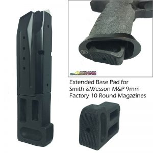 Arredondo Extended Pad for M&P9 10 rnd. Magazines