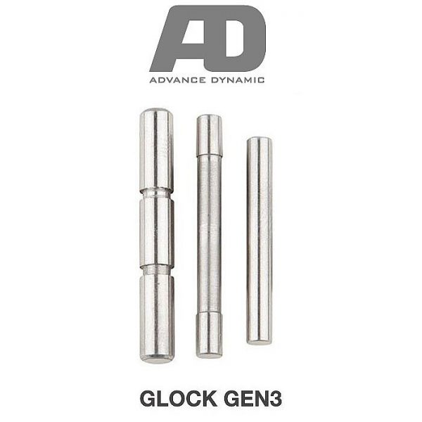 Advance Dynamic Stainless Steel Pin Set for Glock