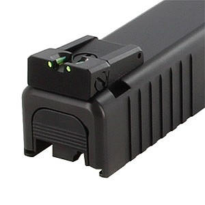 Dawson Precision Rear Sight - Fiber Optic - Glock