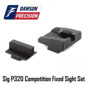 Dawson Precision Sig P320 Black Rear & Black Front