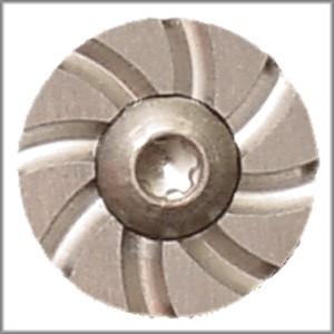 Brazos Custom Gunworks Cyclone Mag Button, Silver