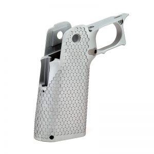 Cheely Custom L2 Aggressive Stainless Grip Kit