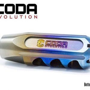 CODA Evolution Fury Titanium Compensator - Flame