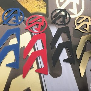 Double Alpha Academy - Alpha-X Logo color inserts