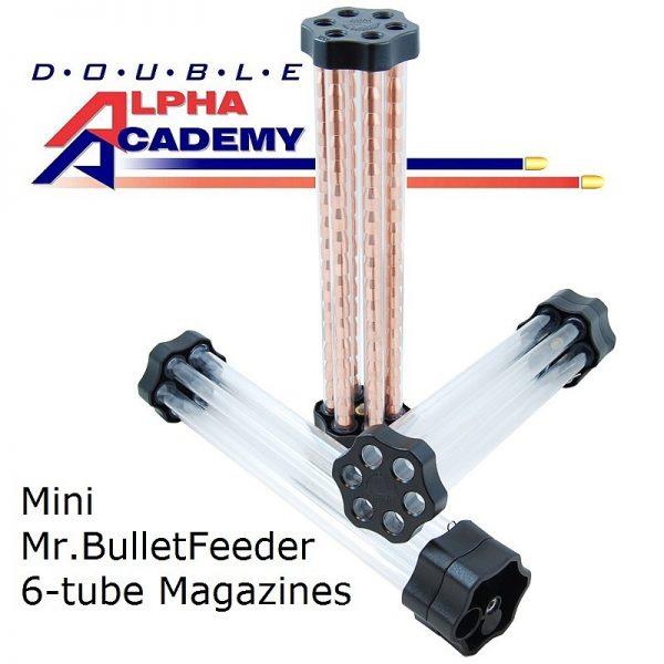 Double Alpha Mini Mr. Bulletfeeder 6-Tube Magazine