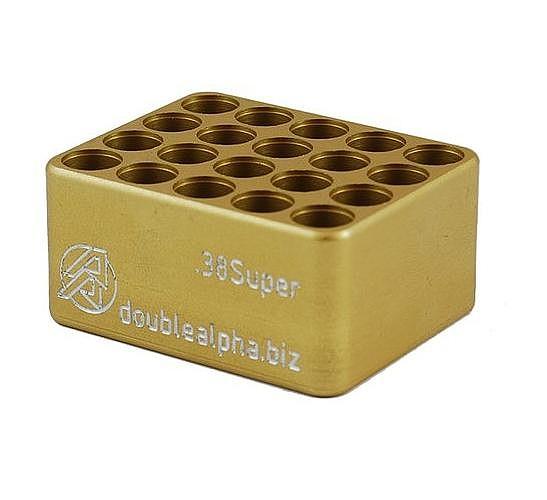 Double Alpha Golden 20-Pocket Case Gauge