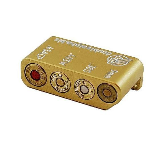 Double Alpha Golden Multi Pocket Case Gauge