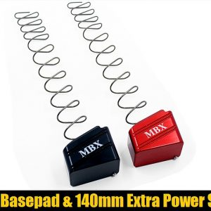 MBX Basepad plus Extra Power Spring for Glock