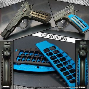 Shooting Sports Innovations Scale 1.0 Grips for CZ
