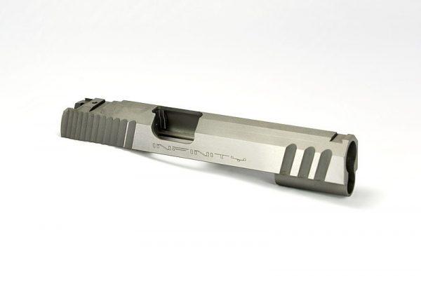SV Infinity 5-inch Slide - Bomar Cut - Serrations