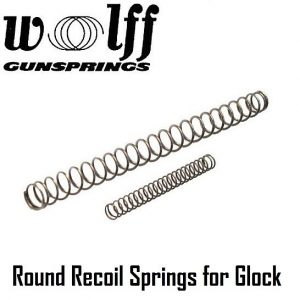 Wolff Reduced Power Recoil Springs for Glocks
