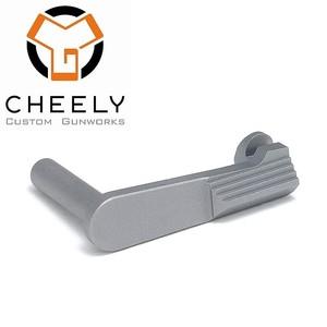 Cheely Custom LDC Billet Slide Stop SS .9/38/.40