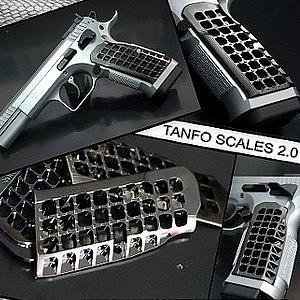 Shooting Sport Innov. Scale Grips - Tanfoglio 2.0