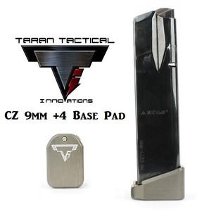 Taran Tactical Firepower CZ 9mm +2 Base Pads