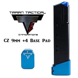 Taran Tactical Firepower CZ 9mm +4 Base Pads