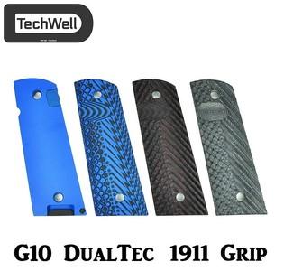 TechWell G10 DualTec Semi-Aggressive 1911 Grip