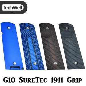 TechWell G10 SureTec Aggressive 1911 Grip